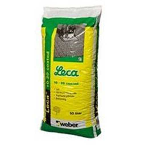 Lecanødder produceres af fed plastik ler der brændes i roterovne