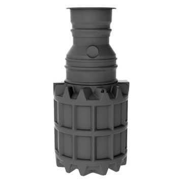 Oldebjerg Snigo standardtank 1600l. Tanken kan anvendes til Regnvandsgenanvendelse, forsinkelstank,