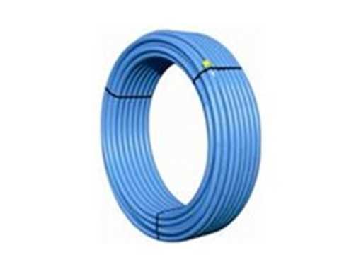 PEM-rør 25 mm PN10 blå. PEM-røret bruges til vandledninger, kolonihavehus og andet drikkevandsinstal