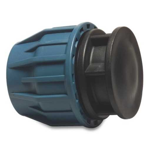 Slutmuffe for PE-rør 40 mm