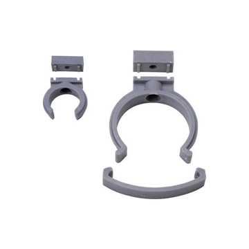 HTP klemmerørbærer 50 mm grå