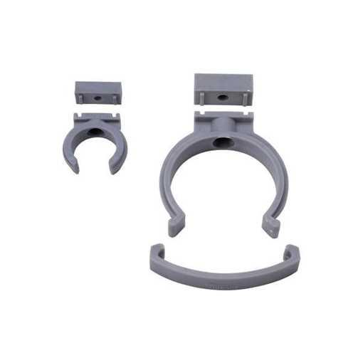 HTP klemmerørbærer 75 mm grå