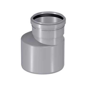 HTP reduktion 40 x 32 mm lang model i grå