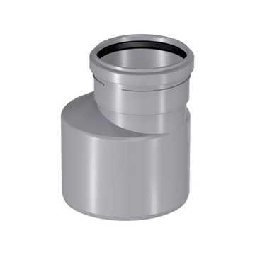 HTP Reduktion 110 x 50 mm lang model i grå
