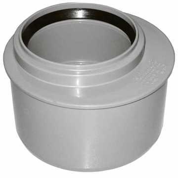 HTP Universal overgang 75/50 mm til spidsende i grå