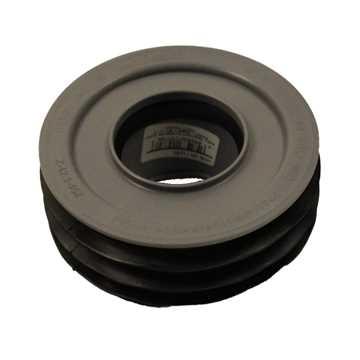 HTP universal overgang 110 x 50 mm til spidsende grå
