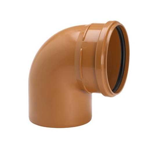 Kloakbøjning PP 200 mm x 88° PP kloakbøjning pp kloakfittings kloakplast kloakvinkel