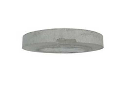 Betondæksel med armering 642 mm til 425 mm betonkegle