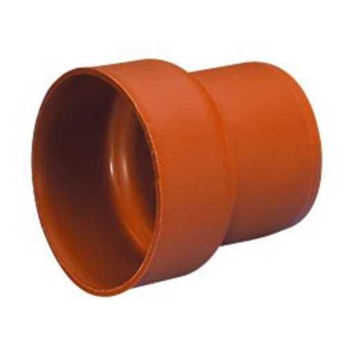 Uponor kloakovergang PVC 110 mm til støbejern spidsende overgang kloak pvc