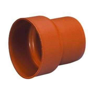 Uponor kloakovergang PVC 160 mm til støbejern spidsende overgang kloak pvc
