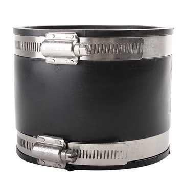 Fernco overgangsmanchet 145 - 168 mm med syrefast stålbånd til installationer i jord.