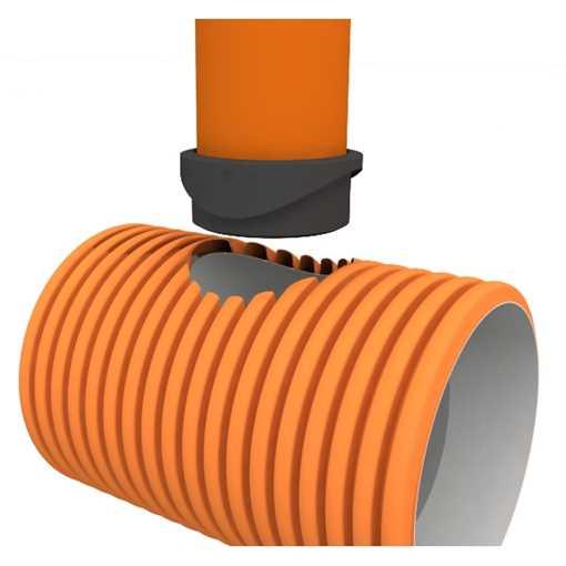 Uni-seals insitu 160 x 177 x 60 mm EDPM til plast.