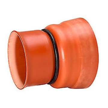 Uponor Ultra Rib 2 overgangsstykke 250 mm til betonspidsende.