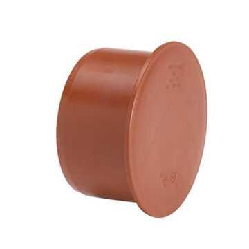 Kloakprop i PP 110 mm glat prop kolak pp kloak afslutning billigt kloakfittings
