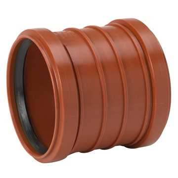 Kloakskydemuffe 160 mm PP, glat skydemuffe pp kolak kloakfittings