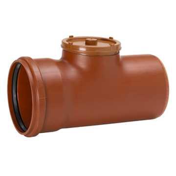 kloakrenserør 110mm renserør kloak billigt kloakfittings Kloakrenserør
