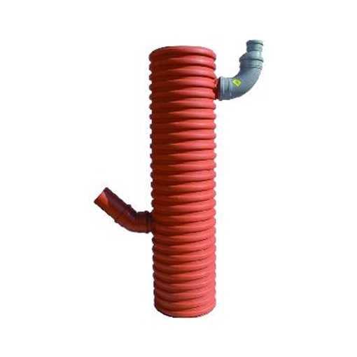 Uponor tagnedløbsbrønd 315 x 110 mm med 35 ltr. sandfang. Med leveres fast top.