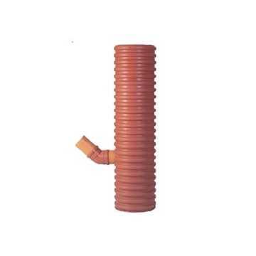 Uponor sandfangsbrønd PP, 425 x 110 mm til 70 ltr. sandfang. Sandfangsbrønden er med vandlås.
