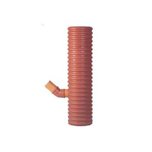 Uponor sandfangsbrønd PP, 425 x 160 mm til 70 ltr. sandfang. Sandfangsbrønden er med vandlås.