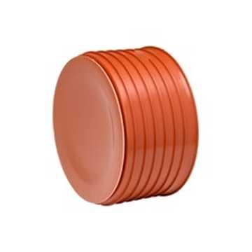 Uponor endebund til opføringsrør 425 mm PP inkl. tætningsring.