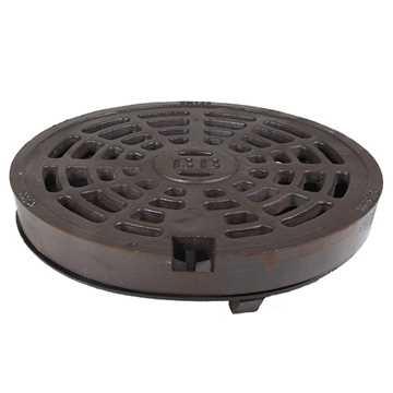 BB rist med låsearme og med afdrejet anlægsflade i GGG 50 sejjern i 425 mm. Tåler op til 40 tons bel