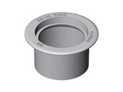 BB flydende karm med 300 mm højt skørt og afdrejet anlægsflade i GGG 50 sejjern i 425 mm. Tåler op t
