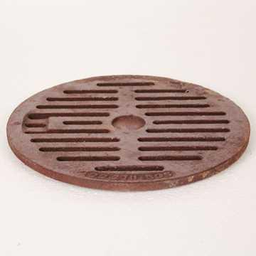 Rørbrøndrist 260 mm til 275 mm rørbrøndkarm. Belastningsklasse A15 = 1,5t. Vægt 1,3 kg.