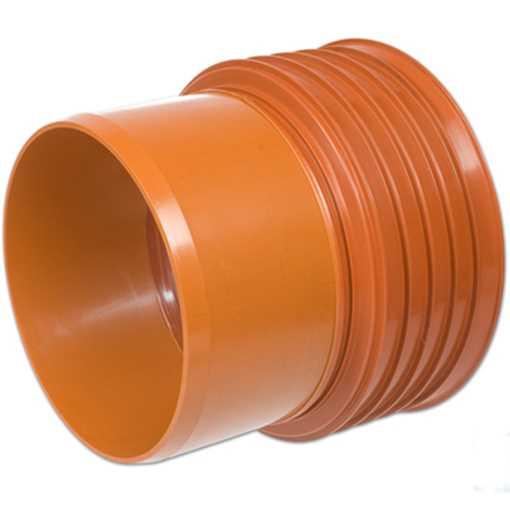 Kaczmarek K2 kloakovergang PP 300 mm x 315 mm med K2 muffe til PVC.