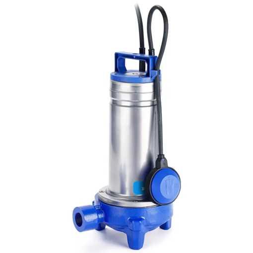 Flygt DXGM 25-11 pumpe til sort spildevand 230V, 50Hz, 1,1kW, med vippe. Pumpehus, motorkappe og aks