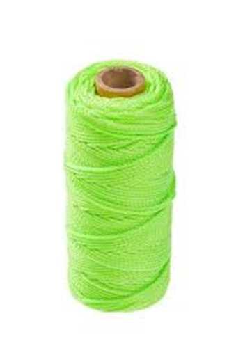 Grøn murersnor - 110 mtr.. i polyester.