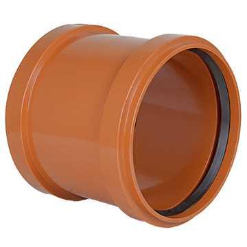 kloakskydemuffe PVC 250mm PVC kloakskydemuffe pvc kloaksamlemuffe samlemuffe kloakfittings