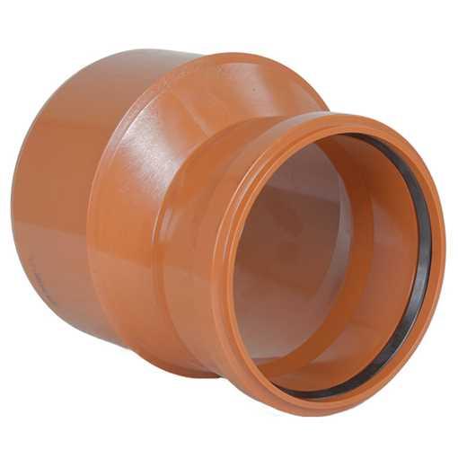 Kloakreduktion PVC 250/200 mm PVC kloakreduktion pvc kloakfittings
