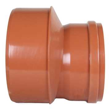 Kloakreduktion PVC 400 x 315 mm PVC kloakreduktion pvc kloakfittings