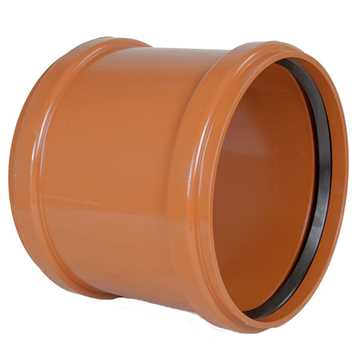 Kloakskydemuffe PVC 400 mm PVC kloakskydemuffe pvc 400 mm kloaksamlemuffe kloakfittings
