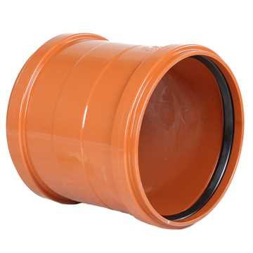 Kloakskydemuffe PVC 200mm PVC kloakskydemuffe pvc kloakfittings kloakplast