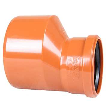 Kloak reduktion PVC 160 x 110 mm pvc Kloakreduktion PVC  kloakfittings reduktion til kloak