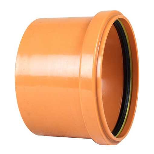 Billede af Enkeltmuffe PVC 160 mm