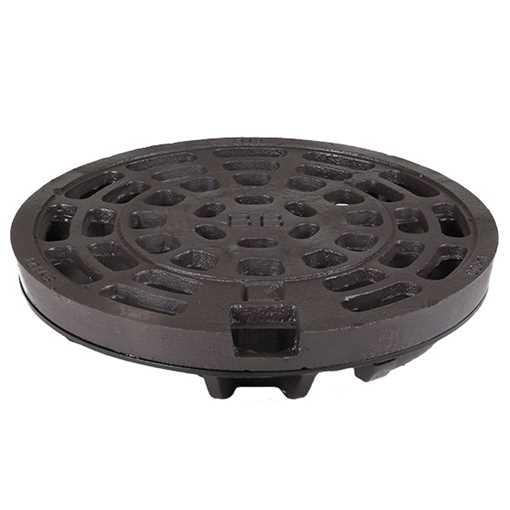 BB rist 315mm med låsearme og med afdrejet anlægsflade i GGG 50 sejjern. Tåler op til 40 tons belast