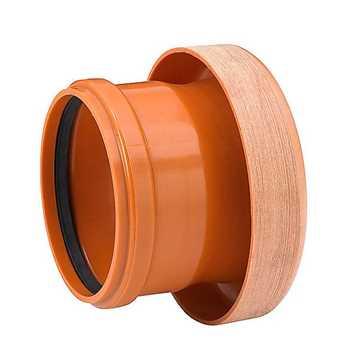 Uponor kloakovergangsstykke PVC 315 x 300 mm. Til GT-Betonmuffe pvc