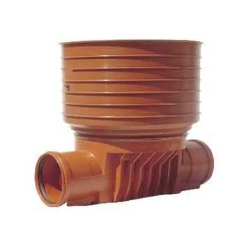 Rense- og inspektionsbrønd PP 200 x 425 mm - type 1