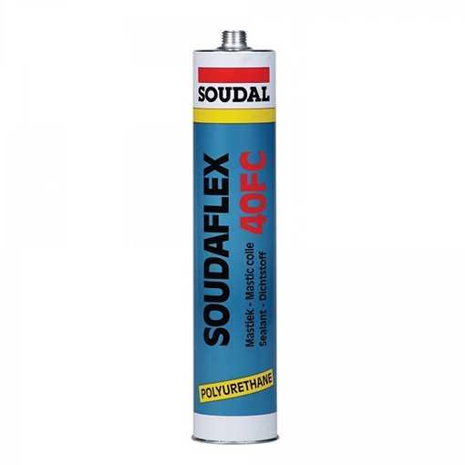 Soudaflex grå fugemasse til samling af elementer i polymerbeton, 310 ml