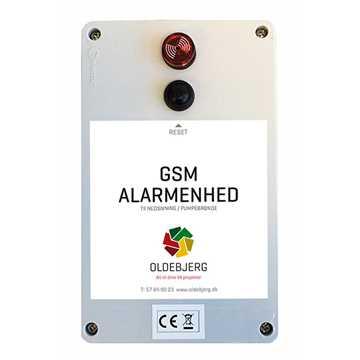 Oldebjerg GSM pumpealarm med batteri.