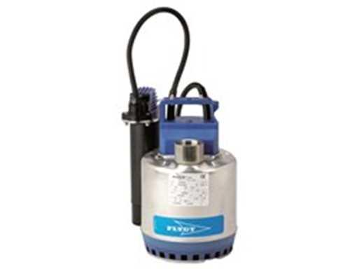 Dykpumpe til dræn/gråt spildevand. Til brug i smalle brønde.<br> 0,55 kW, 1 x 230 V, 50 Hz