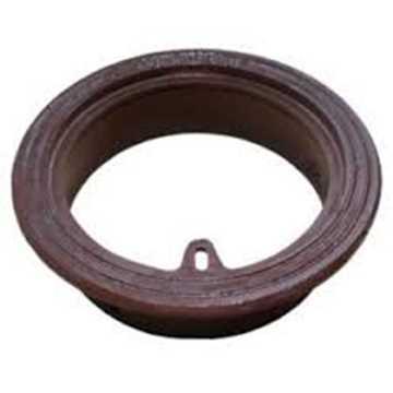 Rund rørbrøndkarm uden rist/dæksel. Passer til 160 mm rør. Belastningsklasse A15 = 1,5t. H=60 mm, væ
