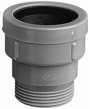 MaxiFlex overgangsnippel 40mm