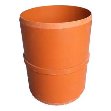 Dobbeltmuffe PVC 315 x 300 mm indvendig for opføringsrør
