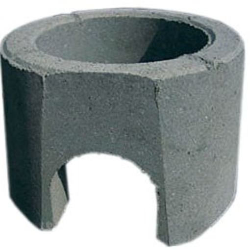 Betonkegle uden dæksel 200 mm m/ udsparring