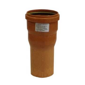 HL ekspansionsmuffe 110/94 kort m/ muffeende incl. silikone
