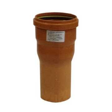 HL ekspansionsmuffe 160/145 kort m/ muffeende incl. silikone