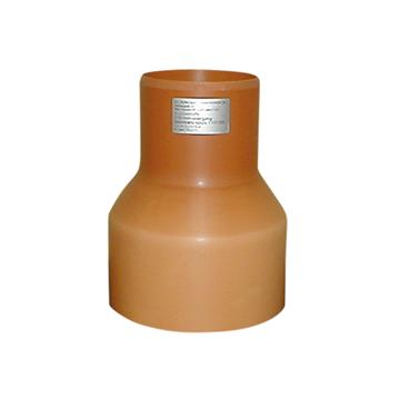 HL krympemuffe 110/154 m/ spidsende til ler inkl. pakning